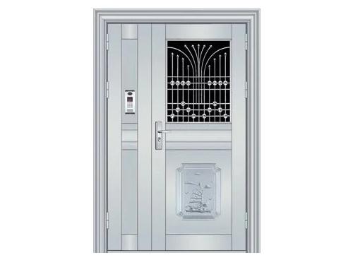 不锈钢对讲门4
