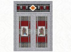 3149-三类花-熊猫纹